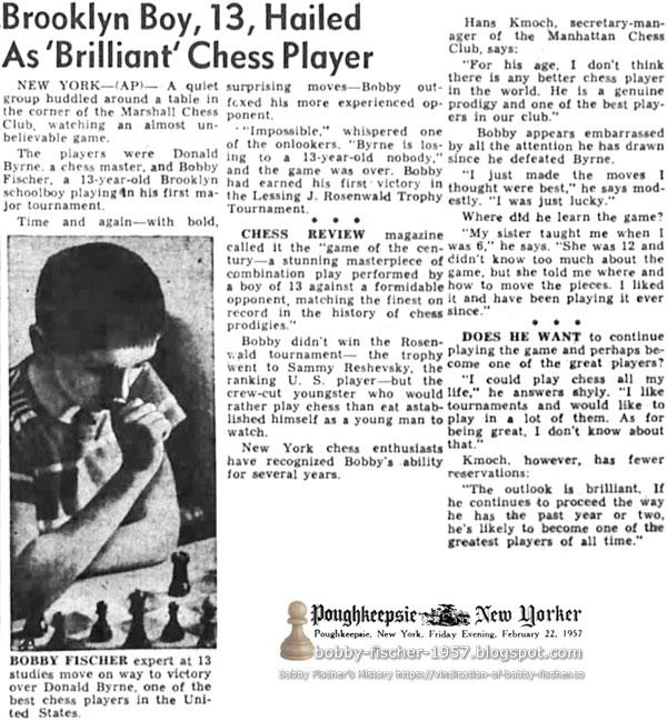 Brooklyn Boy, 13, Hailed As 'Brilliant' Chess Player