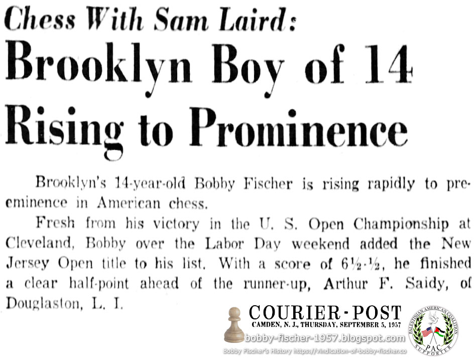 Brooklyn Boy of 14 Rising to Prominence