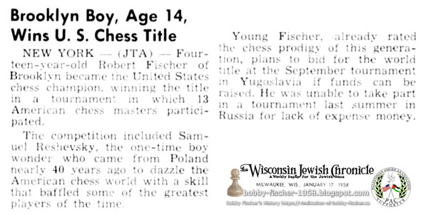 Brooklyn Boy, Age 14, Wins U.S. Chess Title