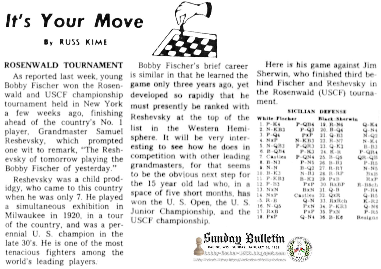 Rosenwald Tournament