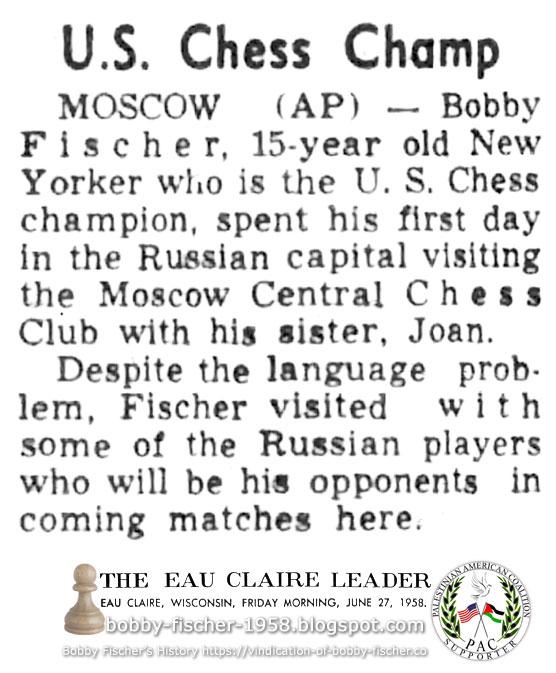 U.S. Chess Champ