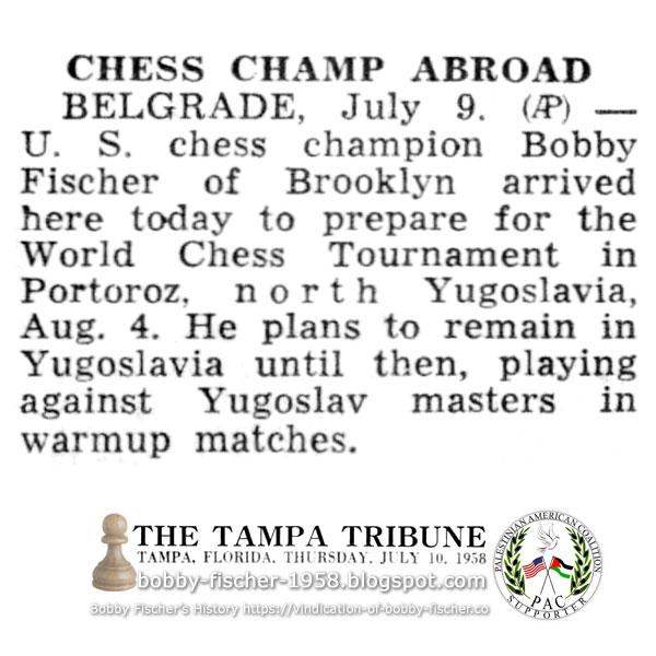 Chess Champ Abroad