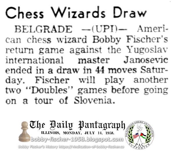 Chess Wizards Draw