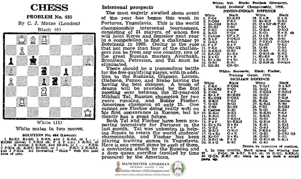 A Touch of Drama: Fischer vs. Tal