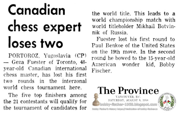 Canadian Chess Expert Loses Two
