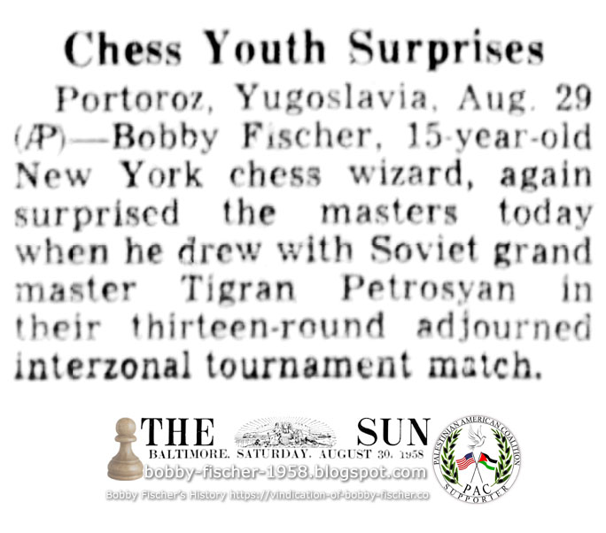 Chess Youth Surprises