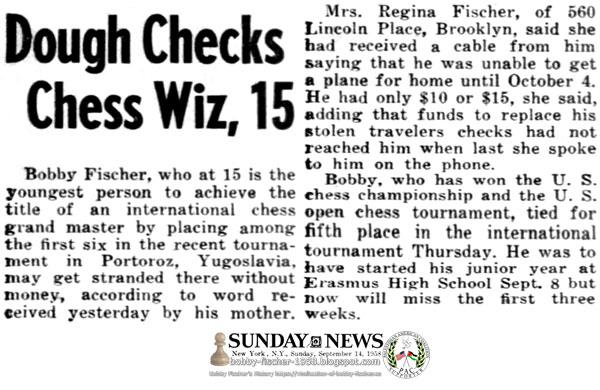 Dough Checks Chess Whiz, 15
