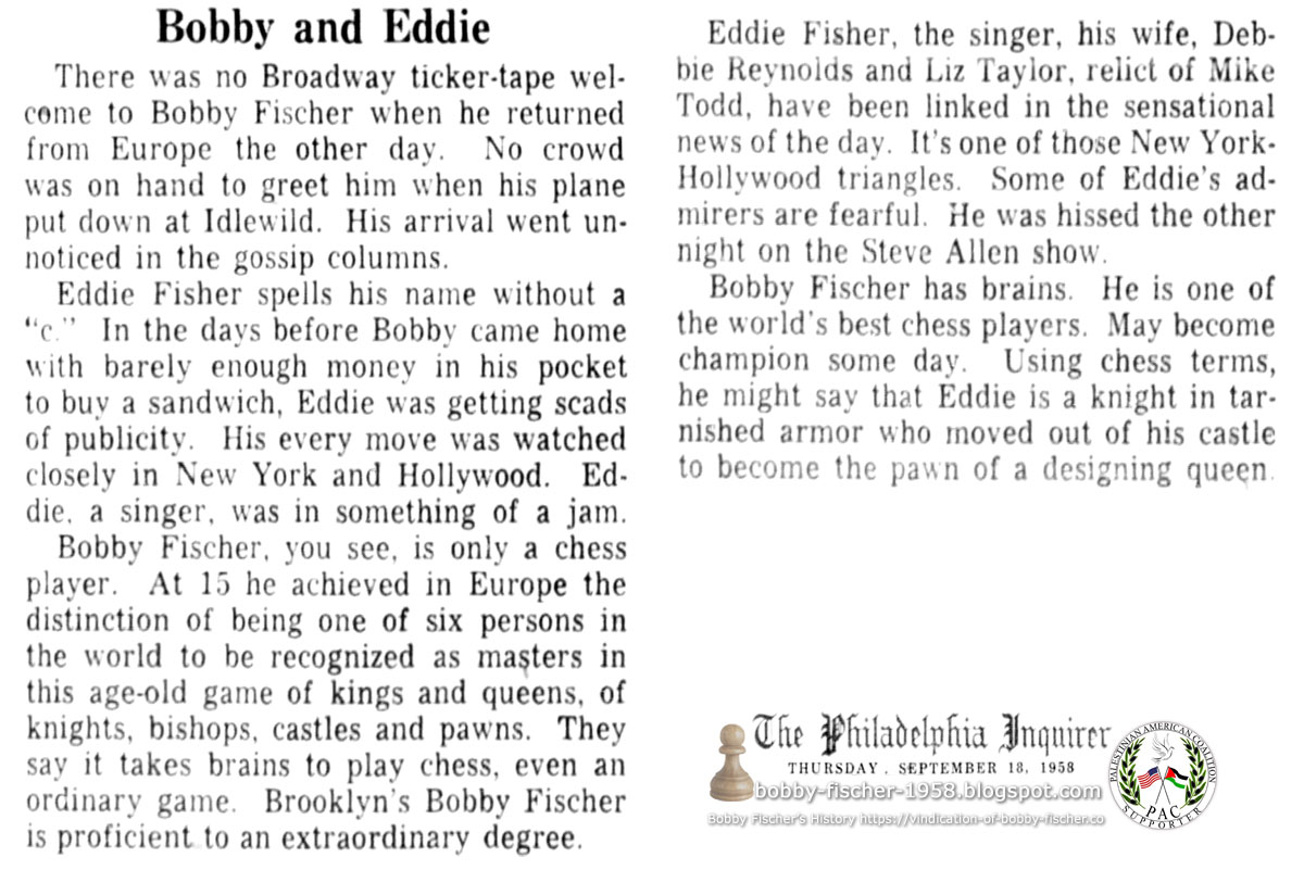 Bobby and Eddie