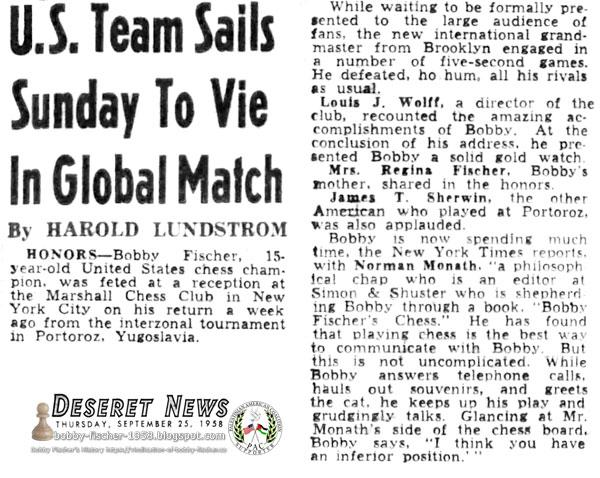 U.S. Team Sails Sunday To Vie In Global Match
