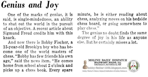 Genius and Joy