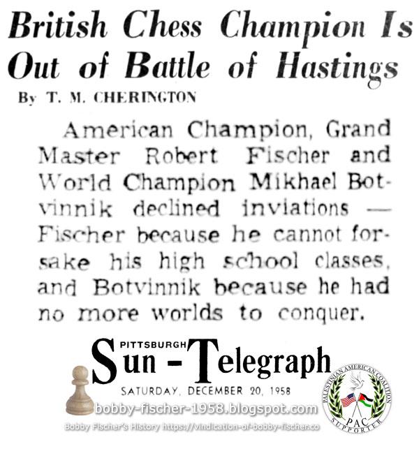 Hastings Chess Tournament
