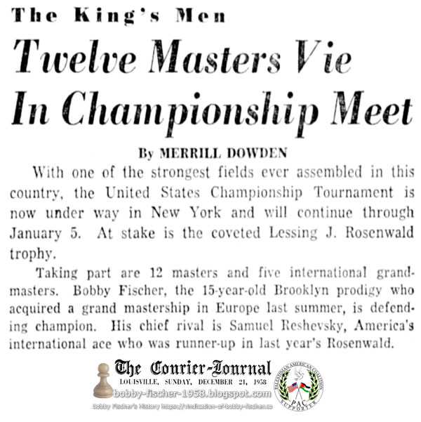 Twelve Masters Vie In Championship Meet
