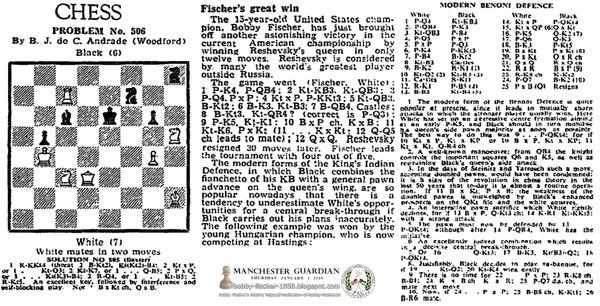 Fischer's Great Win
