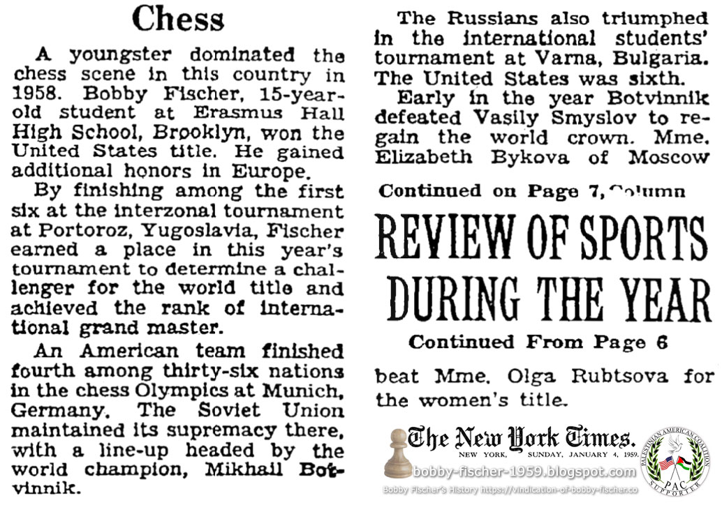 Sports Review of 1958