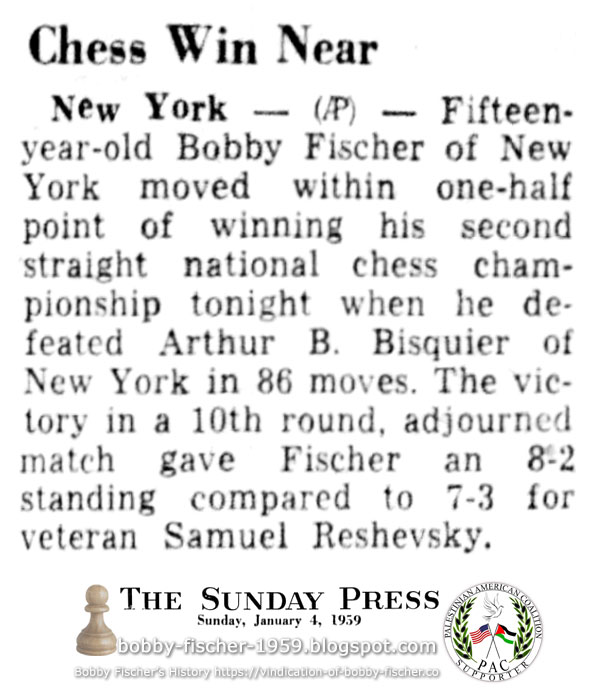 Chess Win Near