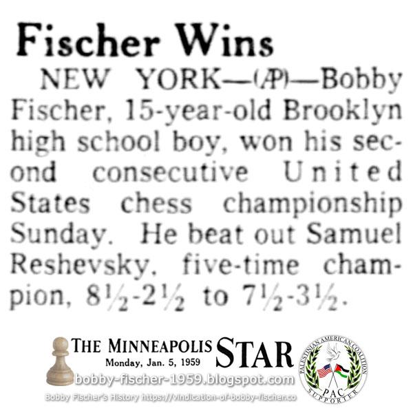 Fischer Wins