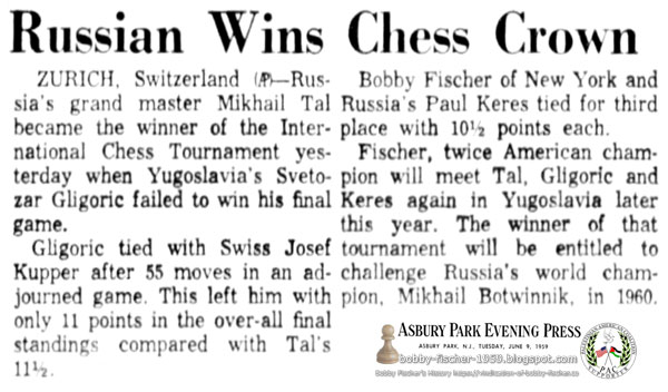 Russian Wins Chess Crown