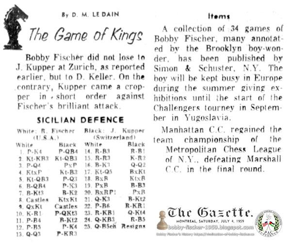 Fischer vs. Keller-Kupper