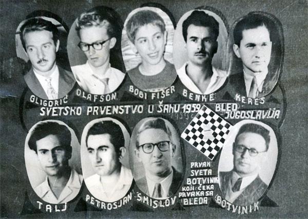 Publicity leaflet for 1959 Candidates' Tournament