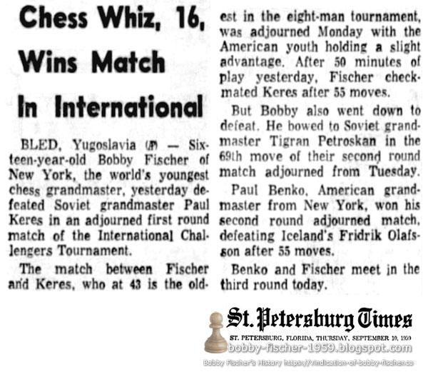 Chess Whiz, 16, Wins Match In International