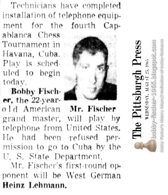 Fourth Capablanca Chess Tournament