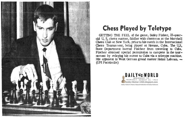Chess Played by Teletype