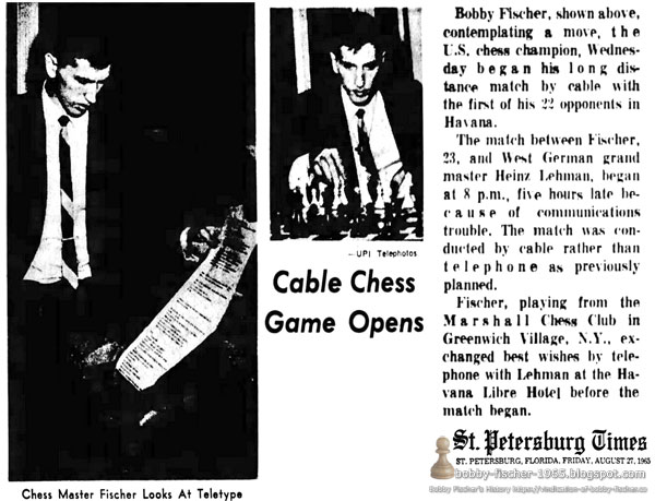 Cable Chess Game Opens