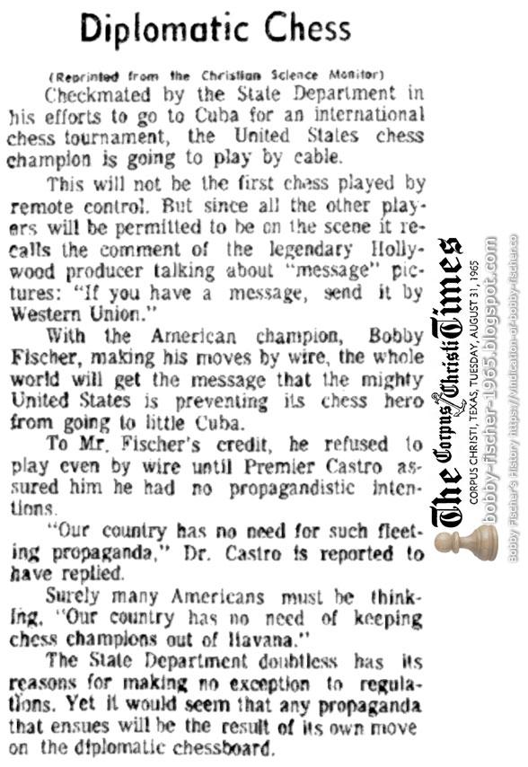 Diplomatic Chess