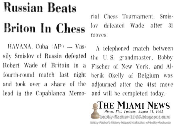 Russian Beats Briton In Chess
