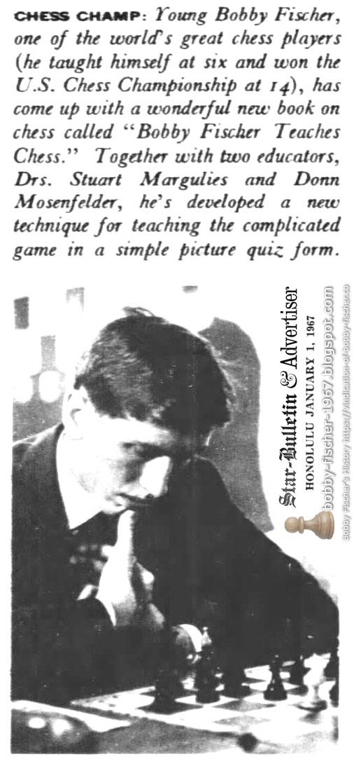 Bobby Fischer Teaches Chess