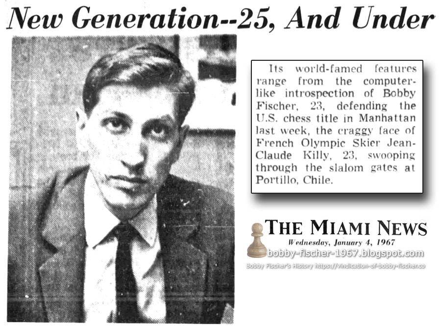 Bobby Fischer - Chess: 1967
