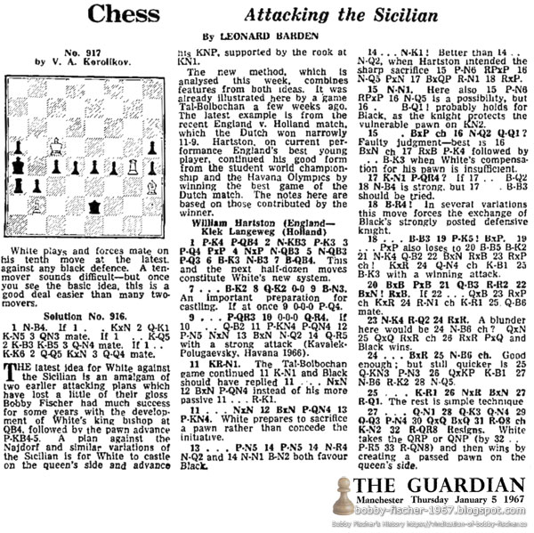 Chess: Attacking the Sicilian